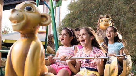Kids Zone in Wonderla Bengaluru Wonderla Amusement Park in Bangalore Bangalore Park 98452LION SWING1
