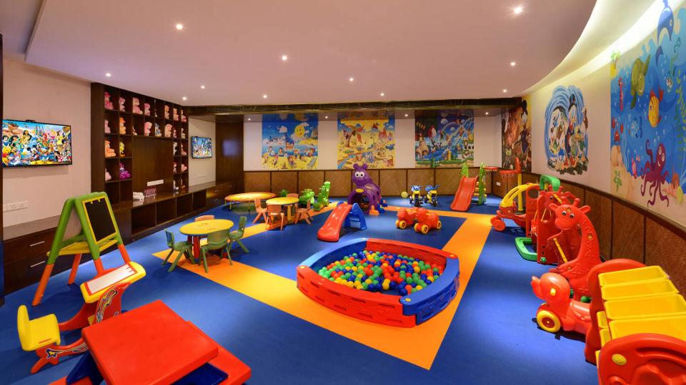 Kids zone at Ananta Udaipur resort