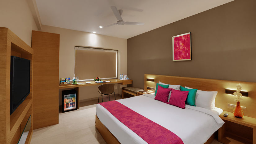 Executive Rooms at Suba Elite Vadodara Hotel rooms in Vadodara