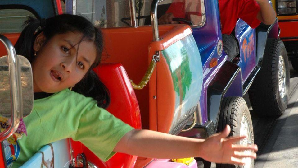 Kids Rides - Convoy at  Wonderla Amusement Park Bengaluru