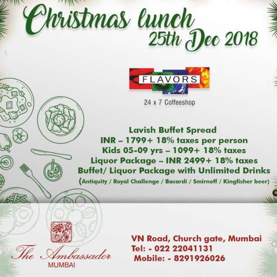Christmas Special Lunch Flavors