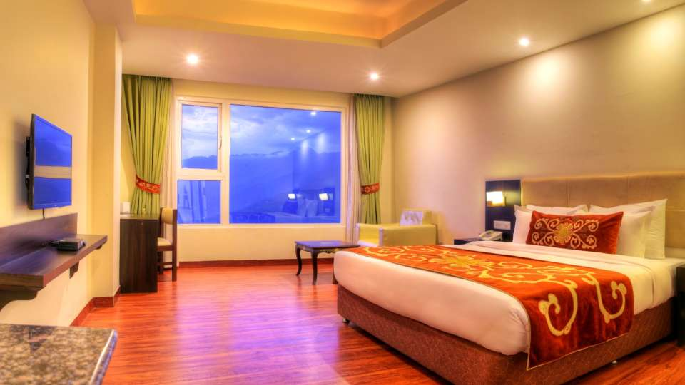Deluxe Plus Room Summit Denzong Hotel & Spa Gangtok ses