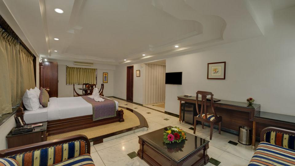 KK Beacon Hotel in RajkotRooms 3