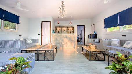 Hotel Rooms in Morjim, Living Room Beach Resort, Goa 5