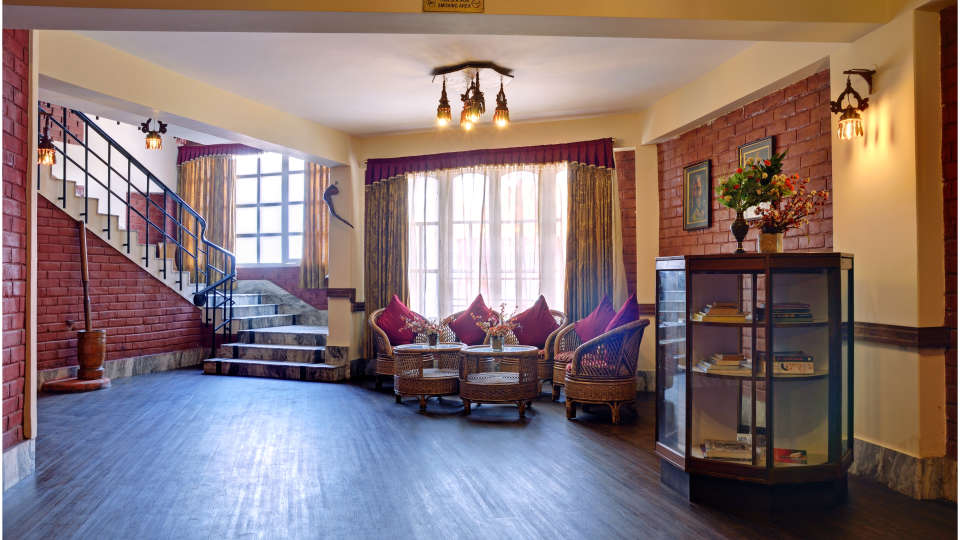 Lobby Summit Newa Regency Spa Pelling Hotels in Pelling