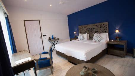Hotel Rooms in Morjim, Living Room Beach Resort, Goa
