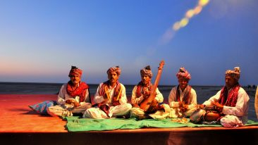 Cultural Music during Rann utsav