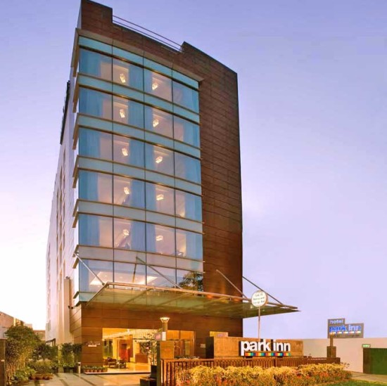 Facade at  Park Inn, Gurgaon - A Carlson Brand Managed by Sarovar Hotels, gurgaon hotels 2