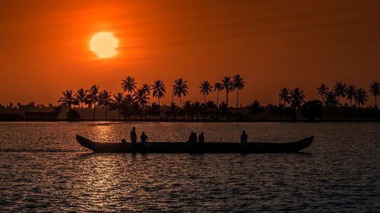Sunset-Kerala