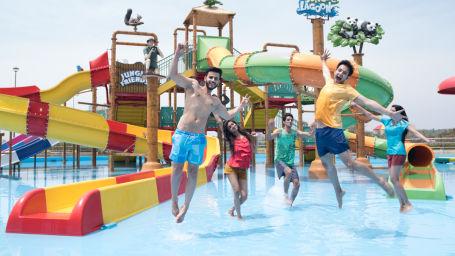 Wonderla Amusement Park, Bengaluru water slides in Bengaluru Wonderla Bengaluru 98752Jungle Lagoon 1