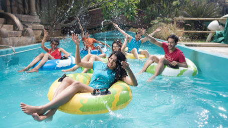 Wonderla Amusement Park, Bengaluru water slides in Bengaluru Wonderla Bengaluru 679Lazy River 3