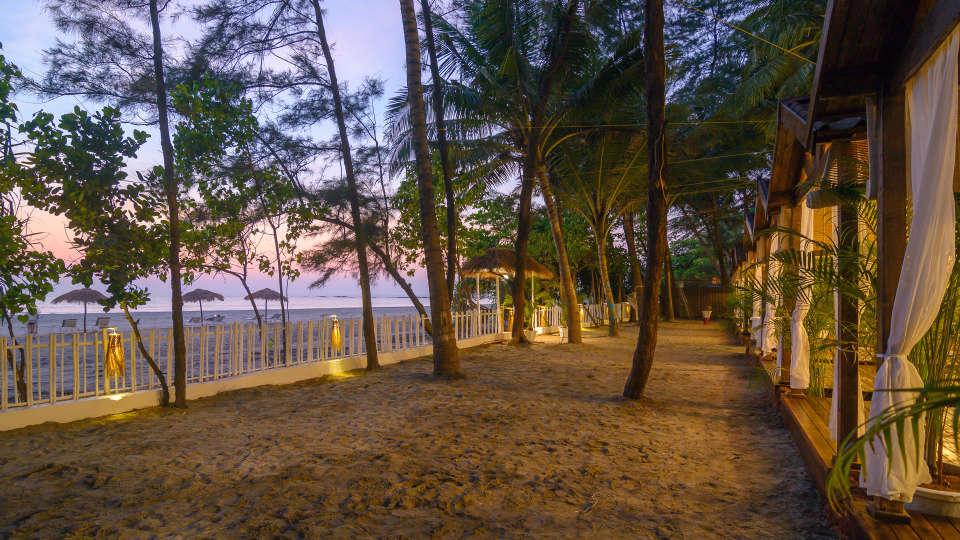 Outdoor Area at LaRiSa Beach Resort in Goa
