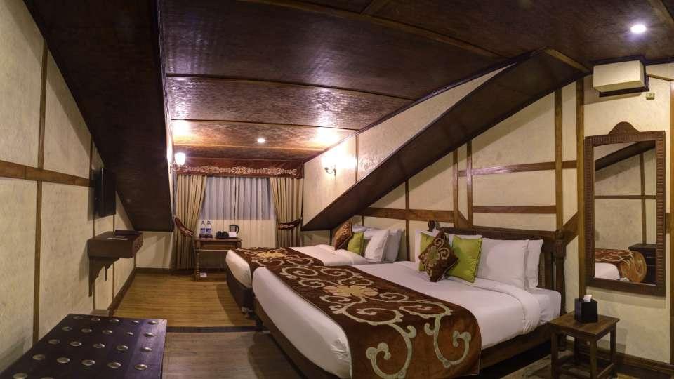Deluxe Triple Room at Summit Hermon Hotel Spa Darjeeling