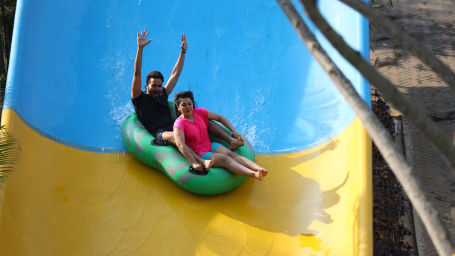 Wonderla Amusement Park, Bangalore water slides in Bangalore Wonderla Bengaluru 244Boomerang 2