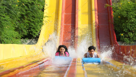 best water park in Bangalore land rides at Wonderla Bangalore Wonderla Amusement Park, Bangalore 215Uphill Racers 1