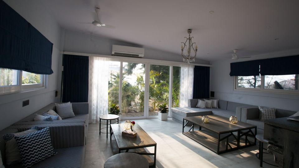Hotel Rooms in Morjim, Living Room Beach Resort, Goa 3