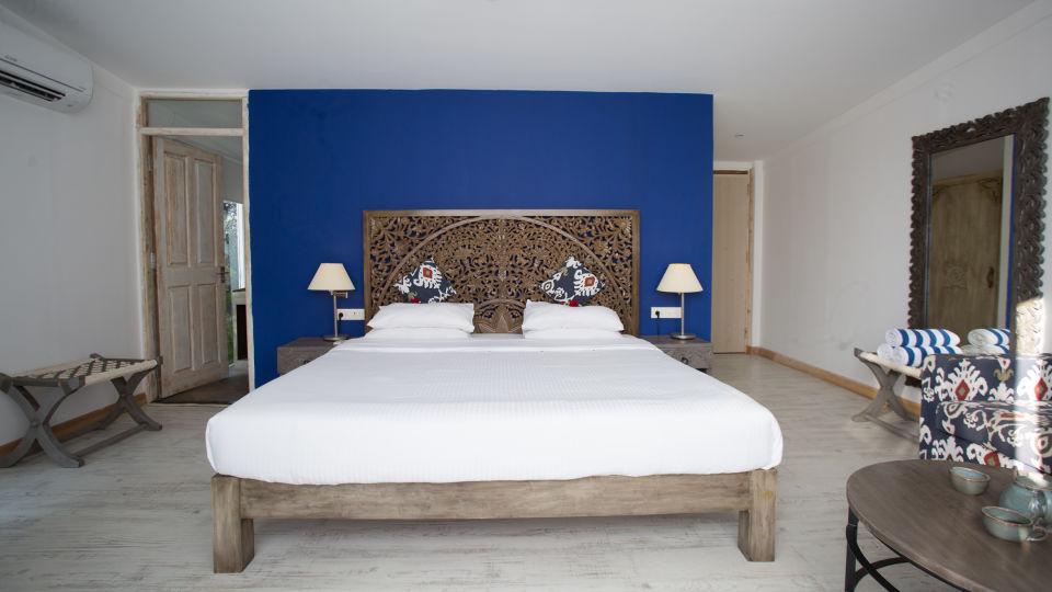 Hotel Rooms in Morjim, Living Room Beach Resort, Goa 4