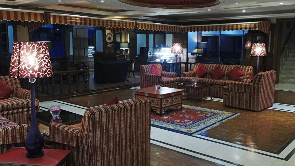 Lobby at The Royal Plaza Gangtok, best hotel in gangtok 8
