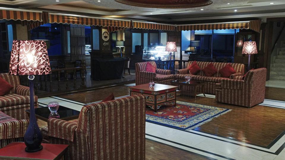 Lobby at The Royal Plaza Gangtok, best hotel in gangtok 8
