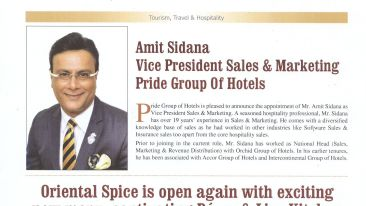 Pride Hotels India Hospitality India Page No.50 Issue Oct - Nov 2019