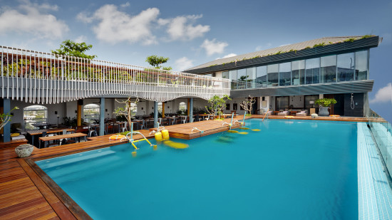 Swimming Pool at Hablis Suites, Hablis Hotel Chennai, Suites in Chennai 1