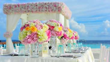 Weddings at Leisure Hotels Tabletop decor