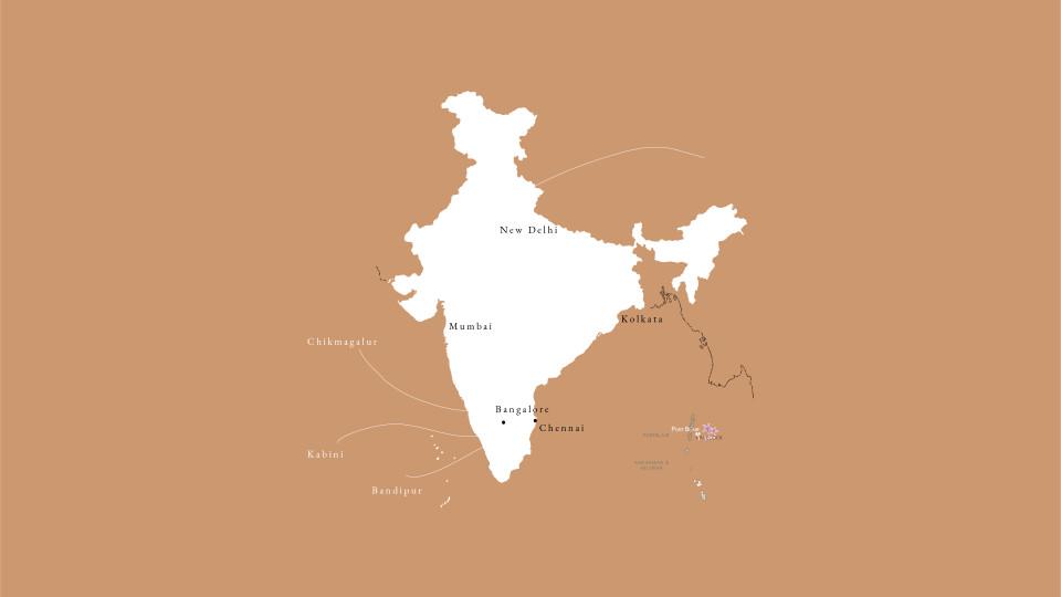 Hompage map Bandipur