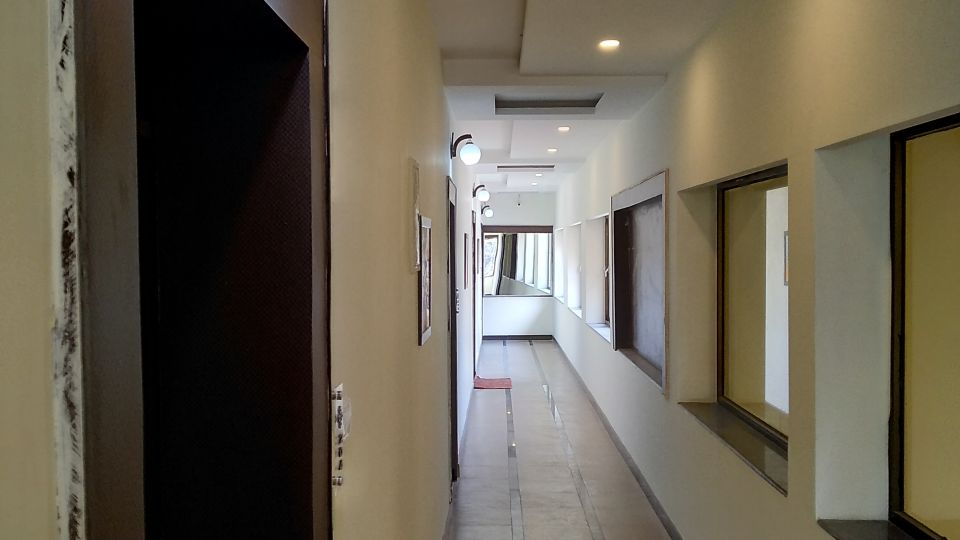 Corridor at Gargee Surya Vihar Hotels Resorts