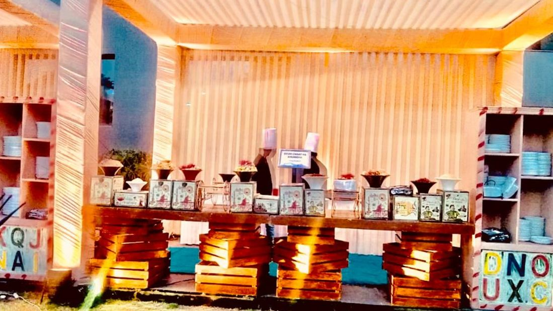 outdoor catering at Narayani Heights, catering in ahmedabad 8
