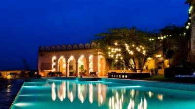 Hill Fort Kesroli - Alwar Kesroli Pool Hotel Hill Fort Kesroli Alwar Rajasthan