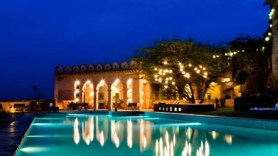 Hill Fort Kesroli - Alwar Kesroli Pool Hotel Hill Fort Kesroli Alwar Rajasthan