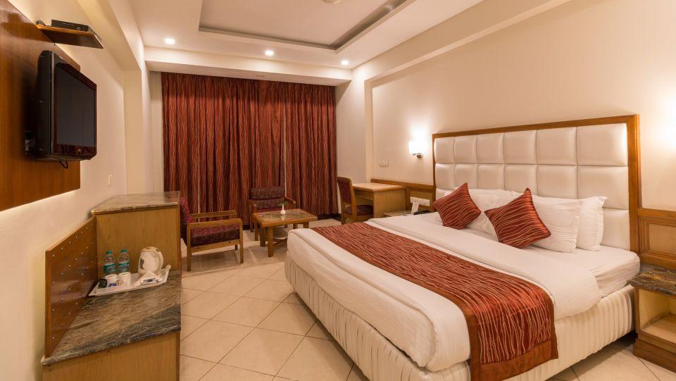 Super Deluxe Room, Hotel Pacific Dehradun, hotel rooms near the Clock Tower