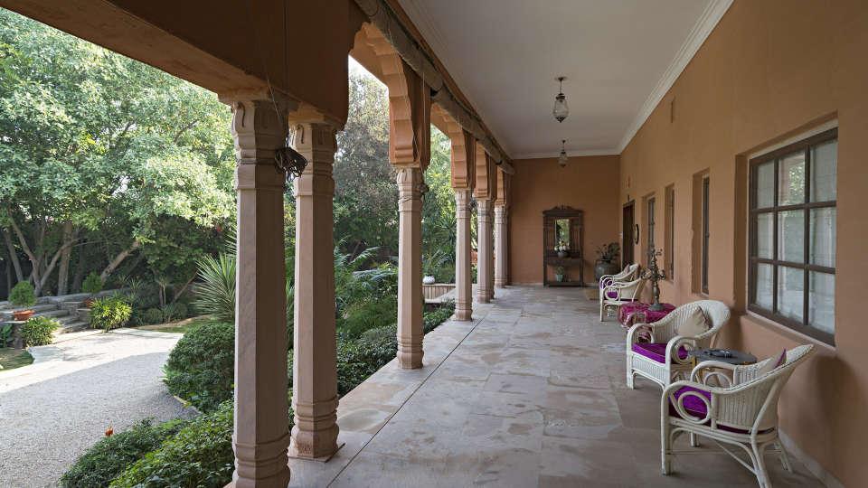 Porch at Srinivas Jaipur 2
