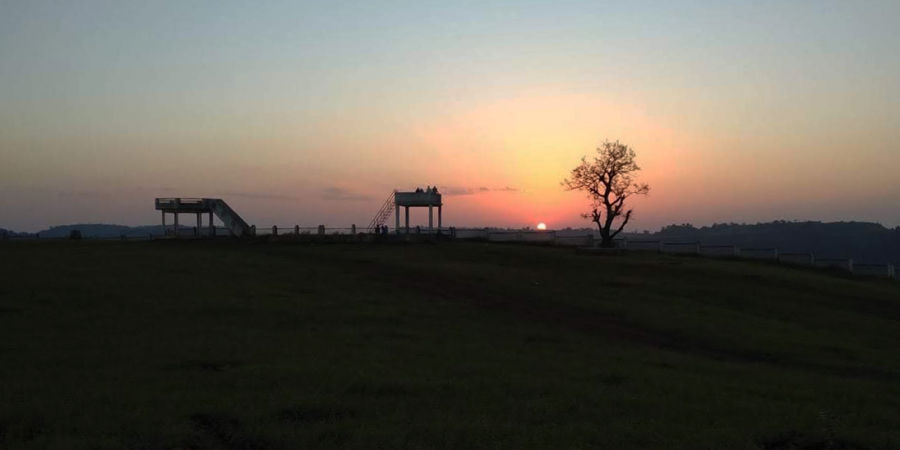 alt-text Let s Camp Tamia Campus sunset viewpt
