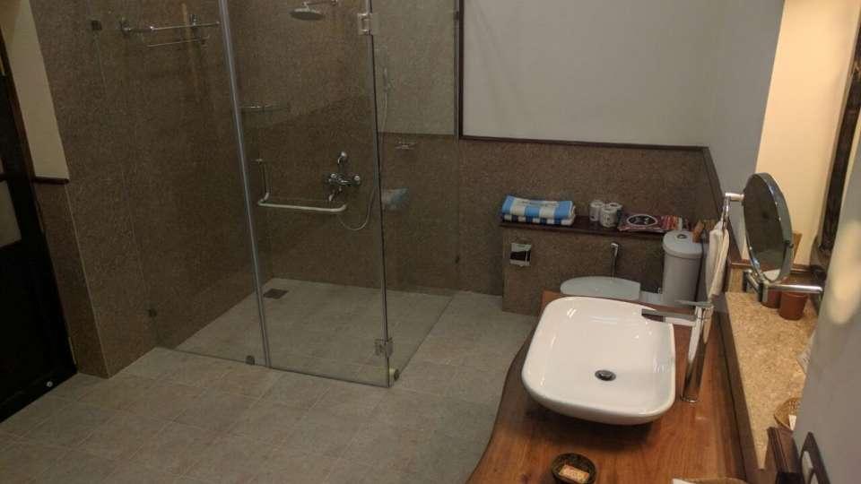 Tranquil Resort, Wayanad Wayanad garden bathroom