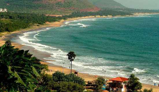 1280px-Rushikonda beach view Hotel Daspalla Hotel in Visakhapatnam