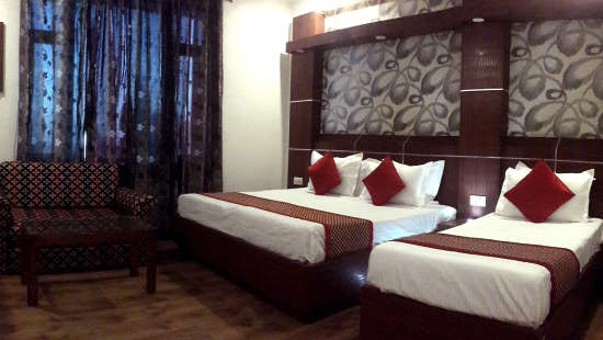 3 Bed Family Rooms at Hotel Jagdish Residency Katra