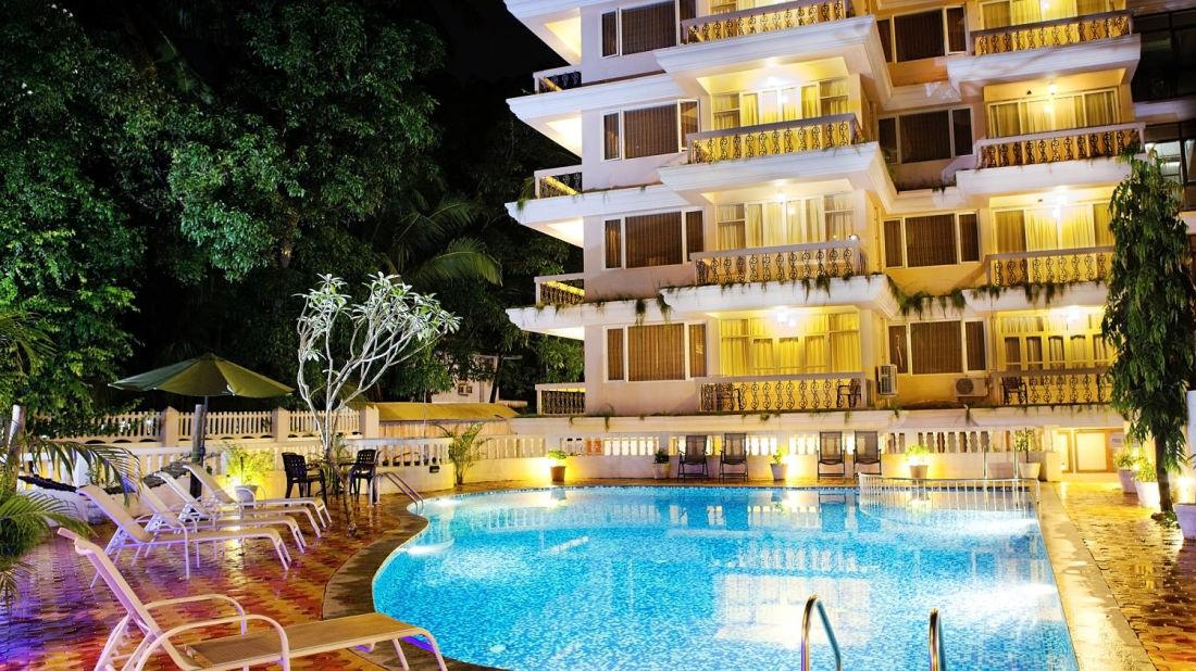 Swimming Pool of Ocean Palms Goa Goa 2