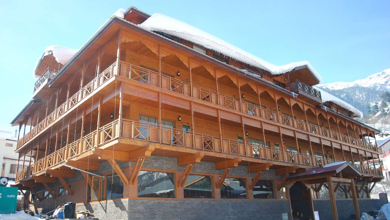 Sandhya resort and spa resorts in manali manali resorts for Hotel spa nueva castilla