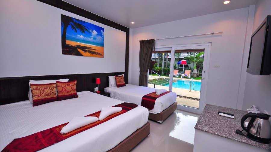 Phuket Airport Hotel Bangkok Superio Triple Room Phuket Airport Hotel 2
