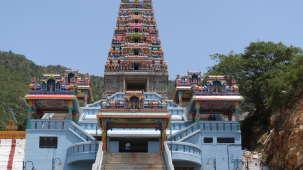 Maruthamalai Rajagopuram near Gokulam Park Coimbatore