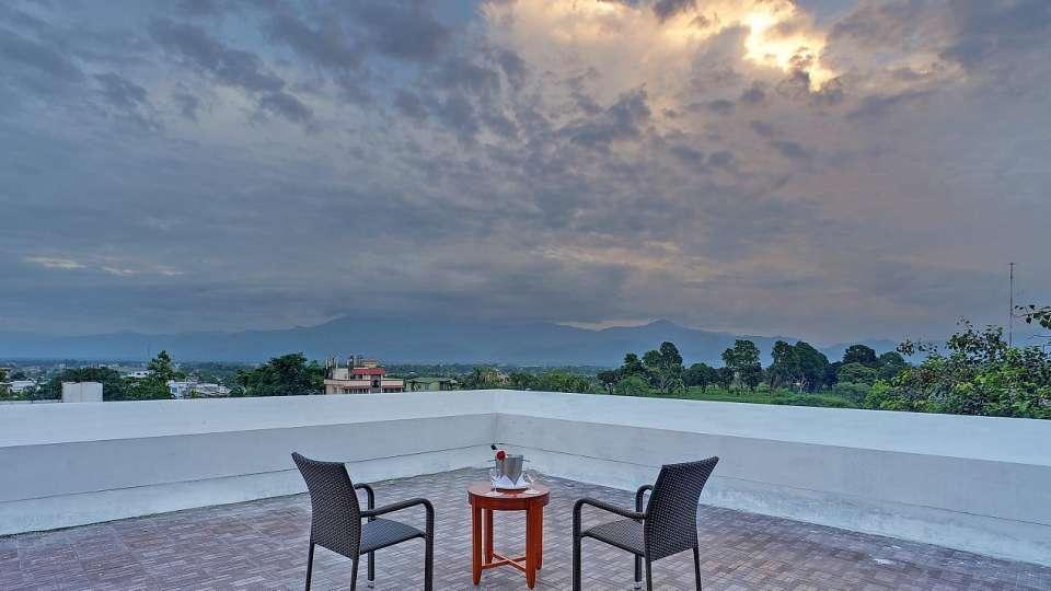 Terrace at Hotel Royal Sarovar Portico Siliguri Hotels