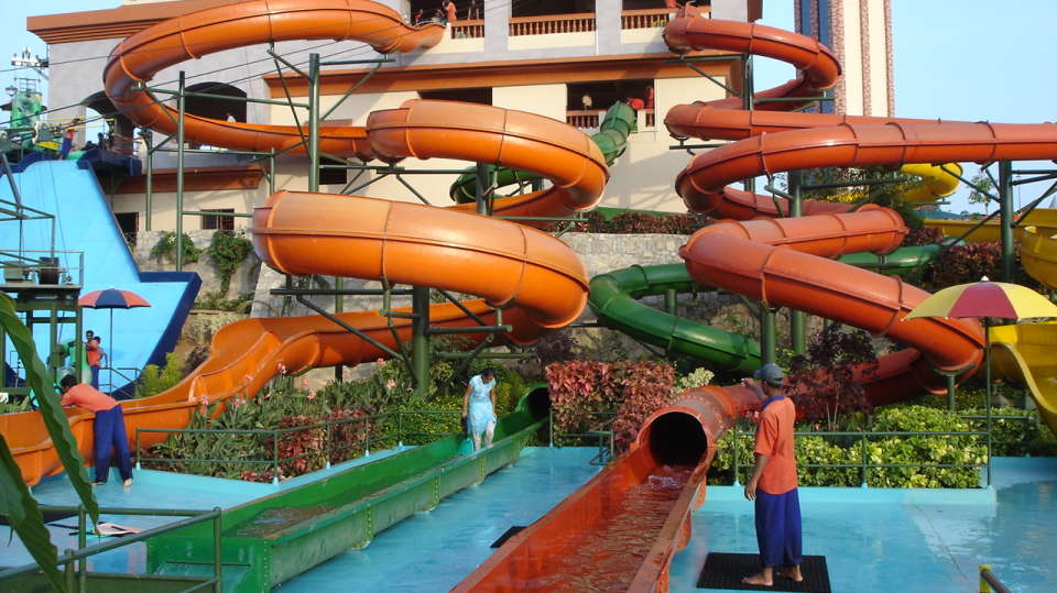 Water Rides - Twisters at  Wonderla Amusement Park Bangalore