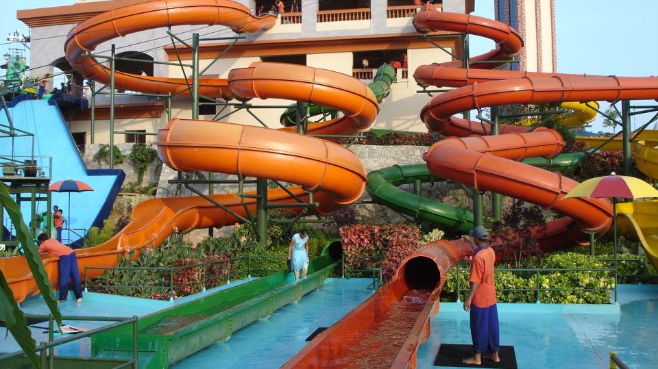 Water Rides - Twisters at  Wonderla Amusement Park Bangalore
