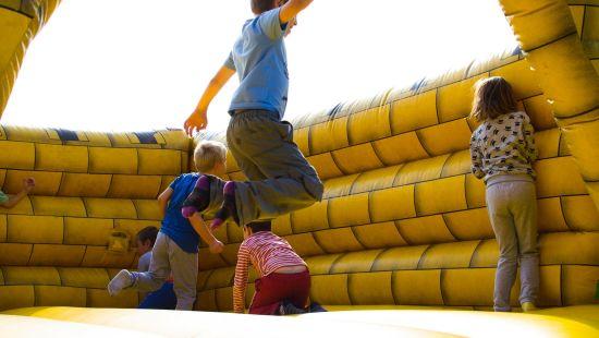 kids play area at Gargee surya vihar hotels and resorts