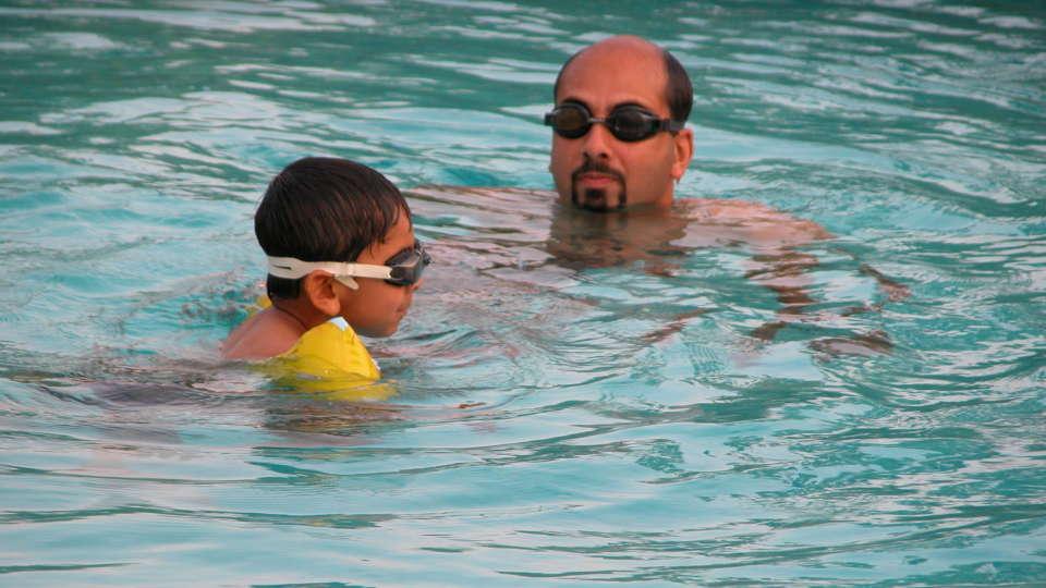 Swimming Pool at Hotel Coorg International Madikere