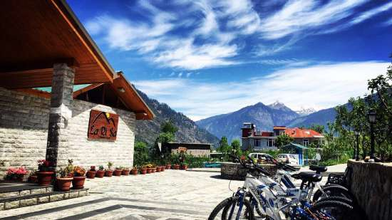 Bicycle Tour at LaRiSa Mountain Resort Manali - 5 Star Hotels in Manali