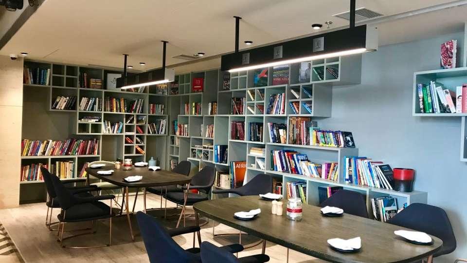 ELEV8 Book Cafe
