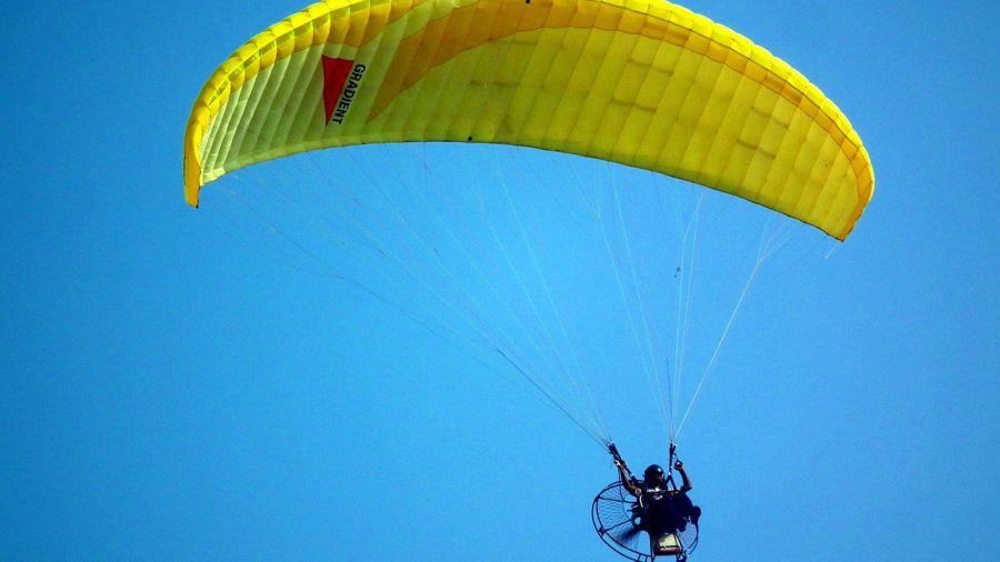 Ojaswi Himalayan Resort Nainital paragliding