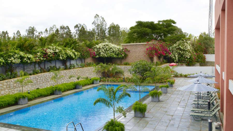 Swimming Pool At Wonderla Resort Bangalore Resort In